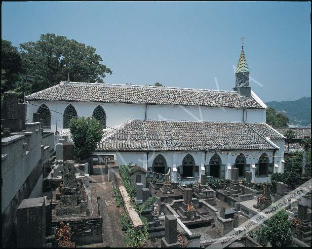 長崎の教会>長崎地区>旧大浦教会(大浦天主堂)